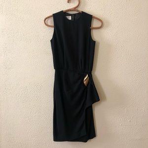 Vintage Jones New York Black Dress 4P